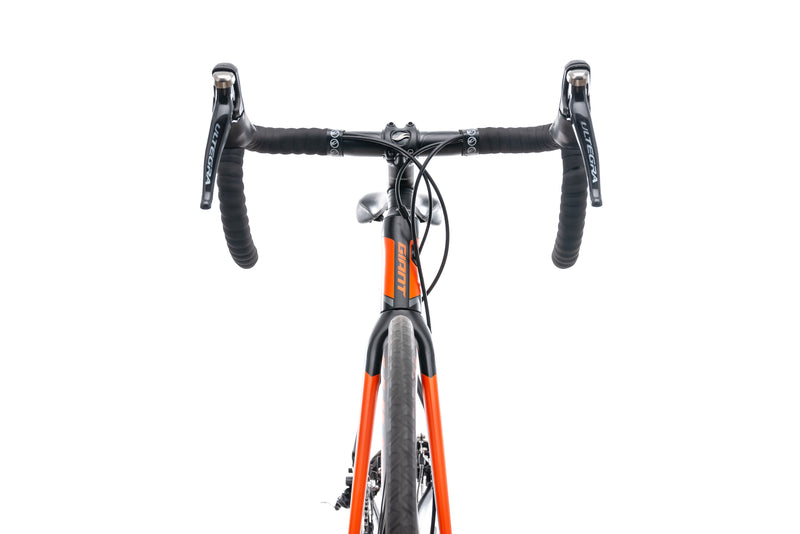 Giant Defy Advanced 1 Bike - 2015 cockpit