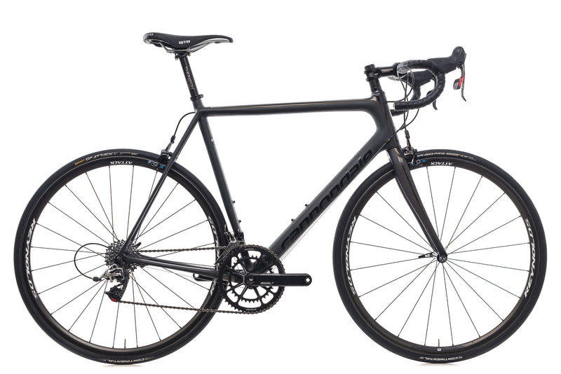 Cannondale SuperSix Evo Black Inc. 58cm Bike - 2015 drive side