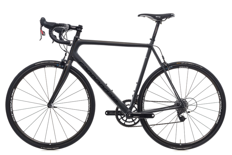 Cannondale SuperSix Evo Black Inc. 58cm Bike - 2015 non-drive side