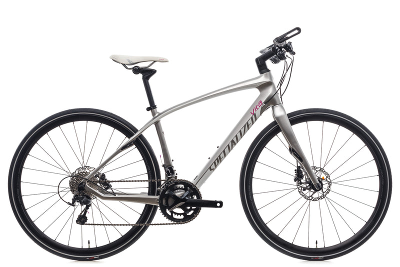 Specialized Vita Expert Carbon Medium Womens Bike - 2017 drive side
