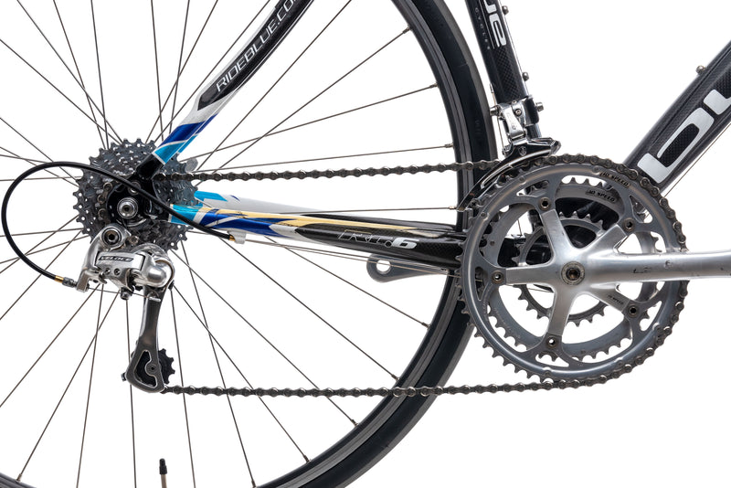 Blue RC6 54.5cm Bike - 2006 drivetrain