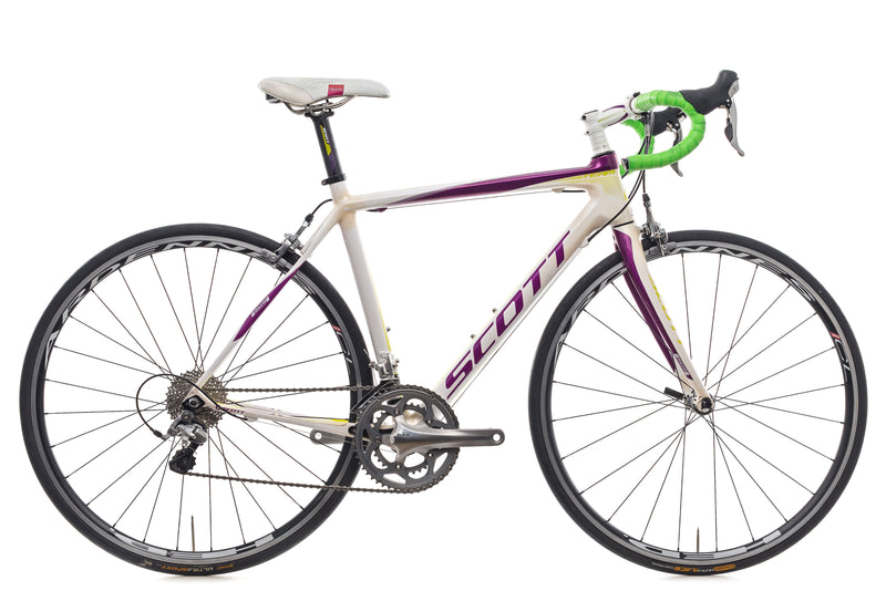 Scott Contessa CR1 Team Small Womens Bike - 2012 drive side