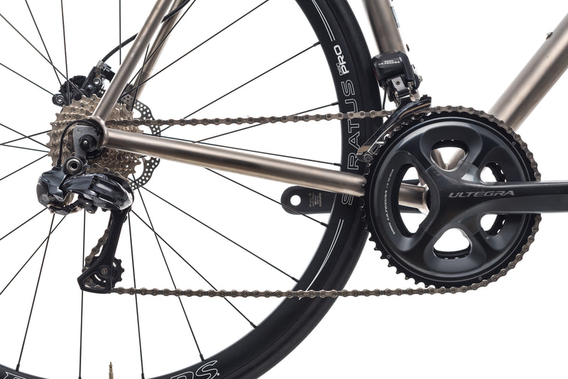 No. 22 Bicycle Company Great Divide Disc 56cm Bike - 2017 drivetrain