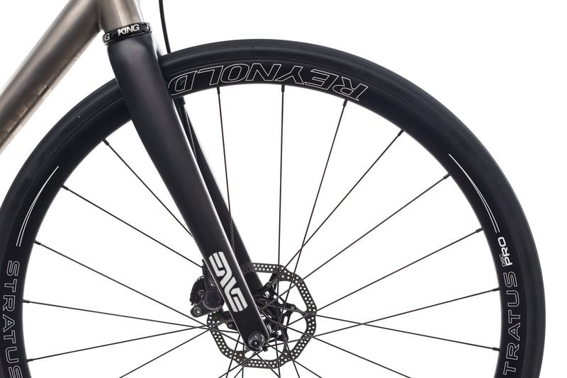 No. 22 Bicycle Company Great Divide Disc 56cm Bike - 2017 front wheel