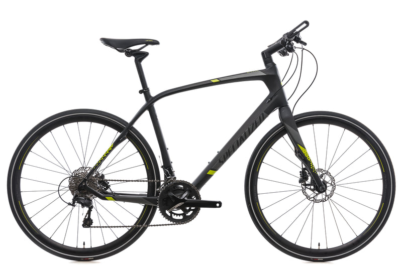 Specialized Sirrus Expert Carbon Large Bike - 2017 drive side