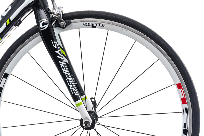 Cannondale Synapse Carbon 6 54cm Bike - 2013 front wheel