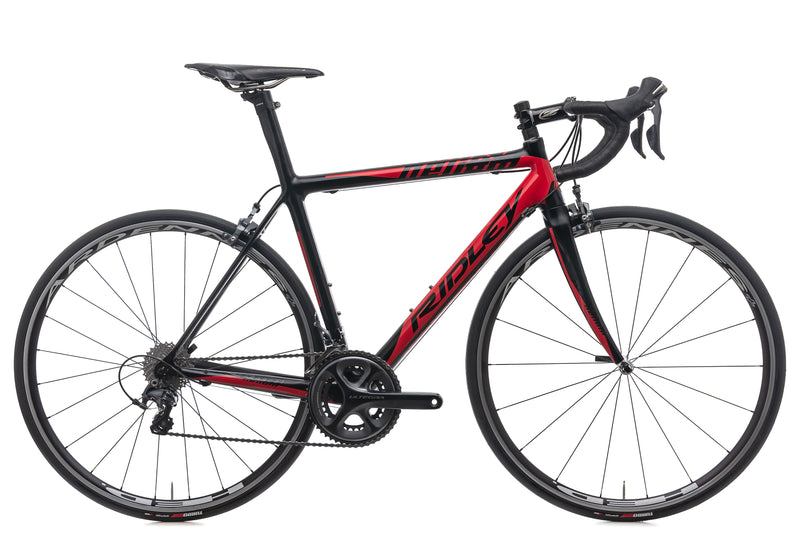Ridley Helium 1306B Ultegra Small Bike - 2013 drive side