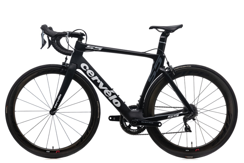 Cervelo S5 Road Bike - 2015, 56cm non-drive side