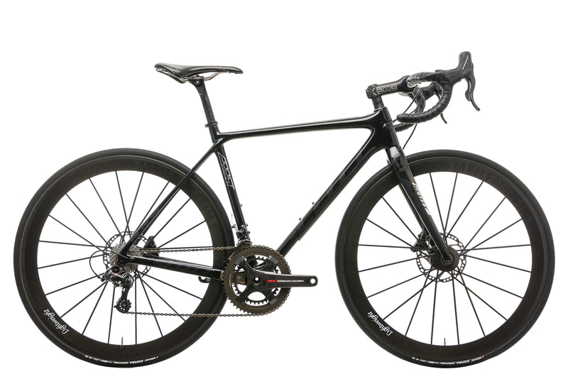 Scott Addict Premium Disc Road Bike - 2017, Small drive side