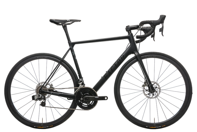 2018 Factor O2 Disc Road Bike - 2017, 56cm drive side