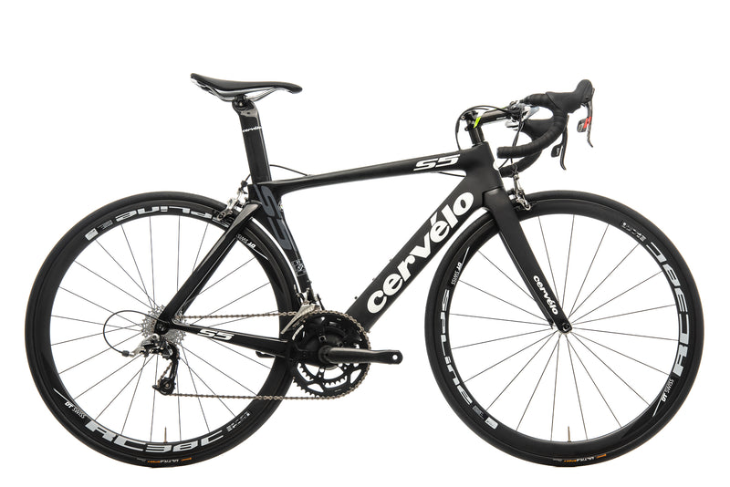 Cervelo S5 Road Bike - 2015, 51cm drive side