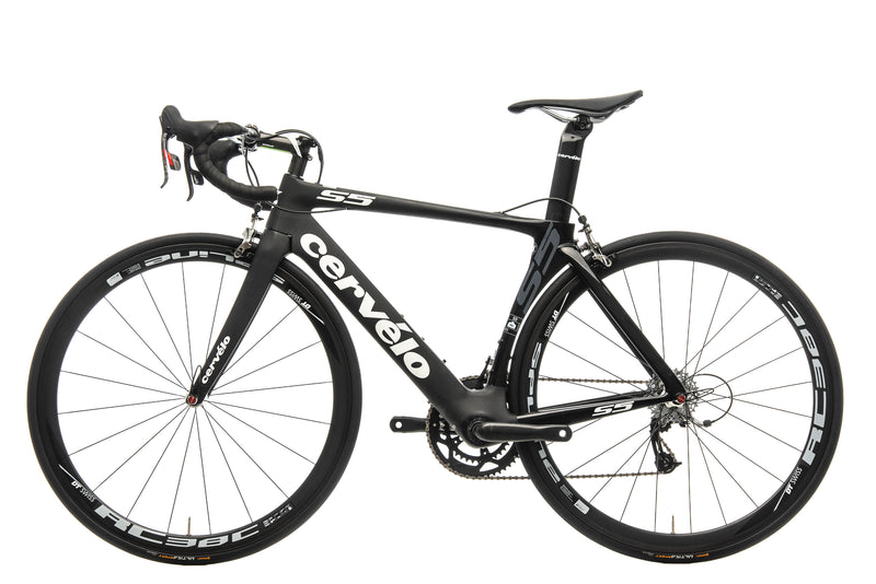 Cervelo S5 Road Bike - 2015, 51cm non-drive side
