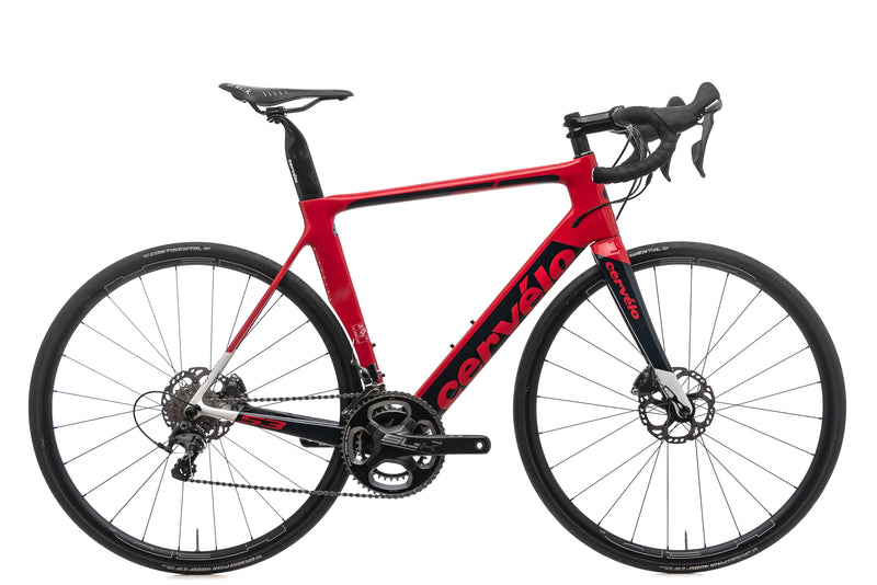Cervelo S3 Disc Road Bike - 2018, 56CM drive side