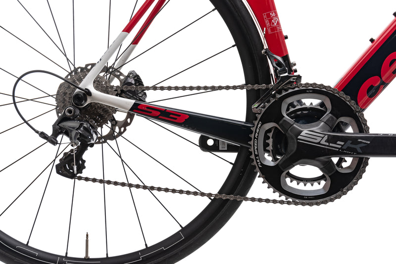 Cervelo S3 Disc Road Bike - 2018, 56CM drivetrain
