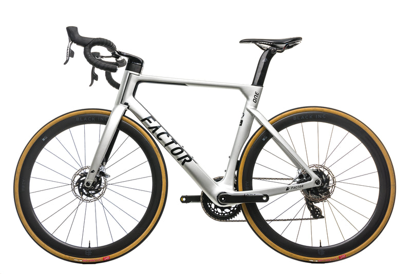 Factor One Disc Road Bike - 2019, 56cm non-drive side