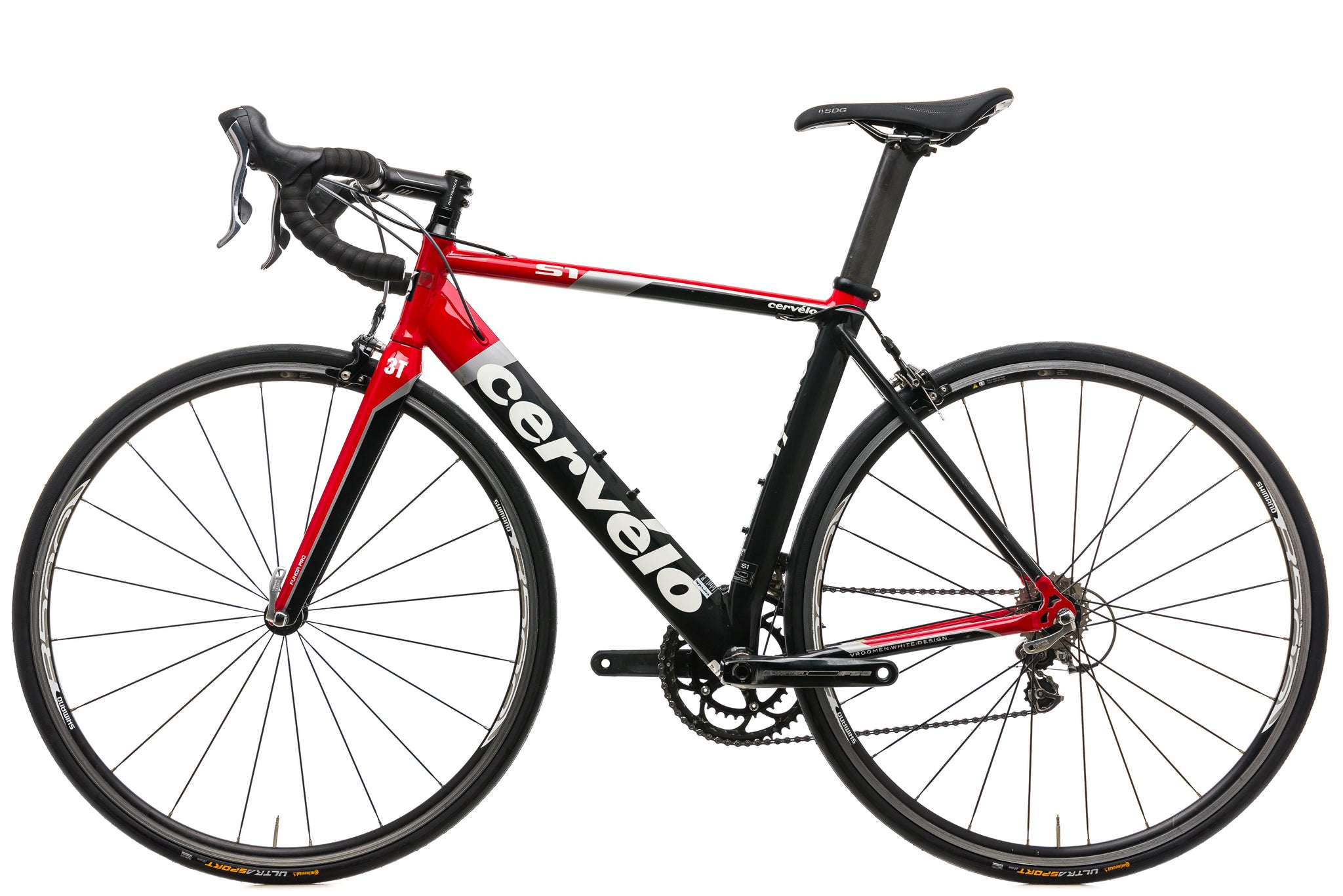Cervelo S1 Road Bike - 2010, 54cm non-drive side