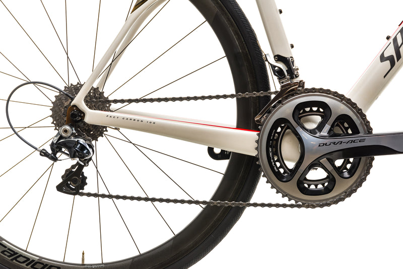 Specialized Roubaix SL4 Pro Road Bike - 2014, 54cm drivetrain