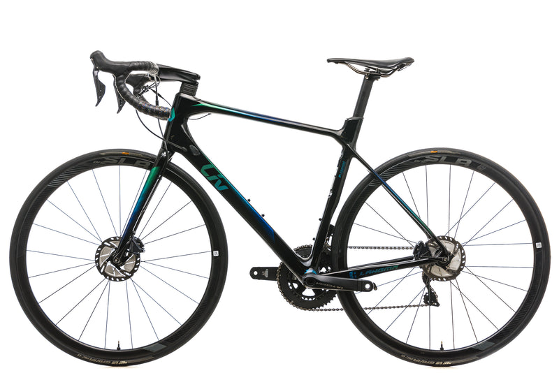 Liv Langma Advanced Pro 0 Disc Womens Road Bike - 2019, Large non-drive side