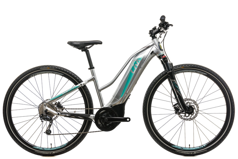 Liv Amiti E+ 2 Womens Hybrid E-Bike - 2019, Small drive side