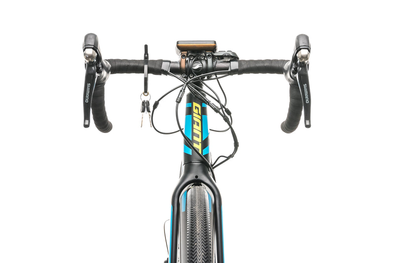 Giant Road-E+ 1 Road E-Bike - 2018, Large cockpit