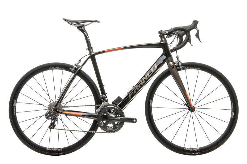 Franco Kanan Road Road Bike - 2017, Medium drive side