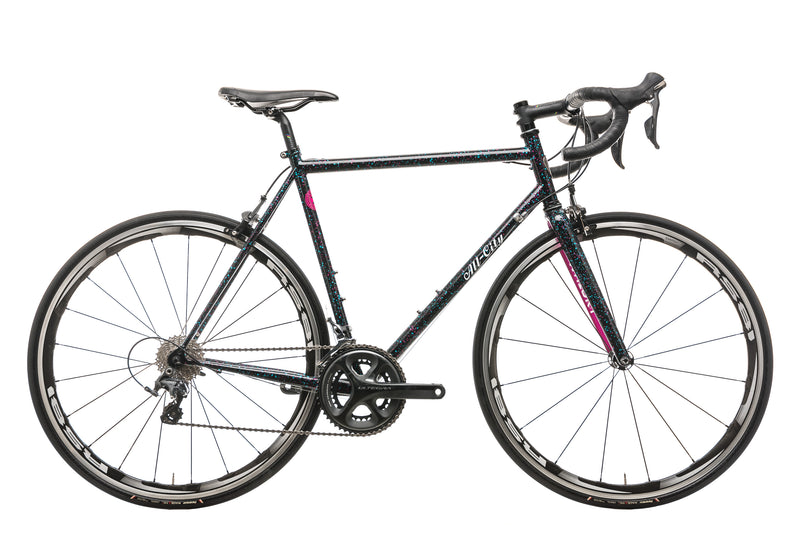 All-City Mr. Pink 10th Anniversary Road Bike - 2019, 55cm drive side