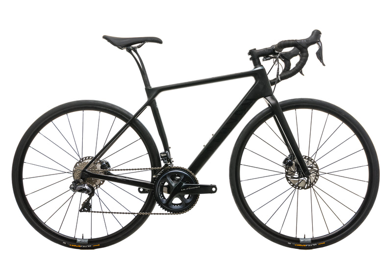 Canyon Endurace CF SL Disc 8.0 Road Bike - 2019, Small drive side