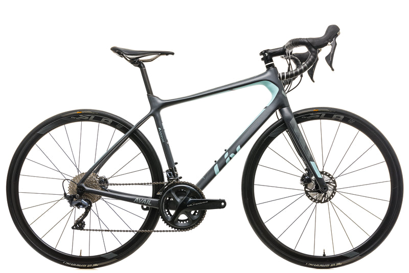Liv Avail Advanced Pro 1 Womens Road Bike - 2019, Medium drive side
