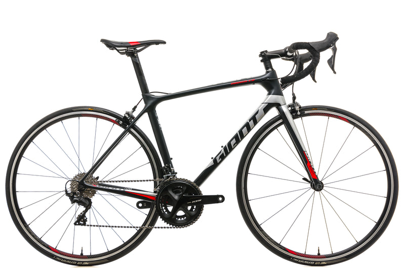 Giant TCR Advanced Road Bike - 2019, Medium drive side