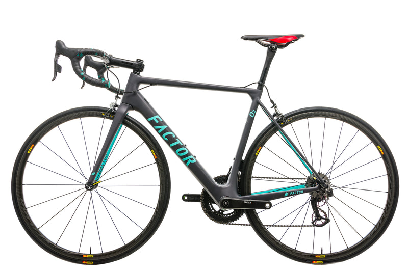 Factor O2 Road Bike - 2017, 54cm non-drive side