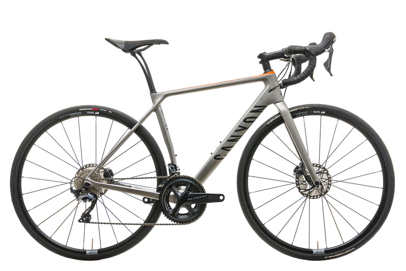 Canyon Endurace CF SL 8.0 Road Bike - 2018, Small drive side