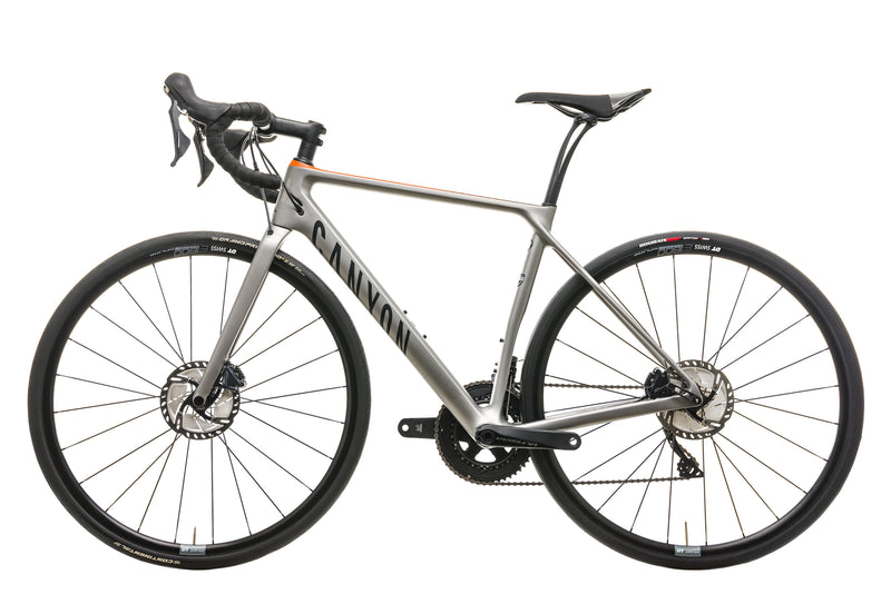 Canyon Endurace CF SL 8.0 Road Bike - 2018, Small non-drive side