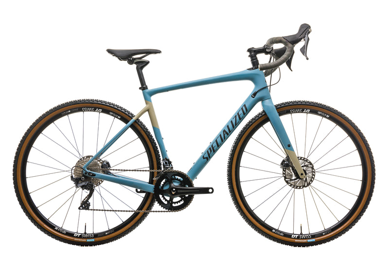 Specialized Diverge Comp Mens Gravel Bike - 2019, 58cm drive side