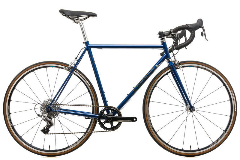 Rodriguez Custom Steel Road Bike - 56.5cm drive side