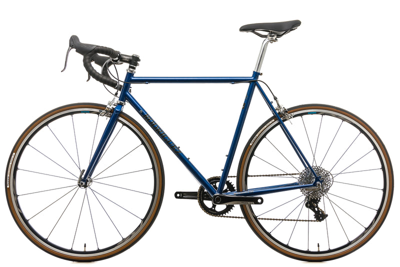Rodriguez Custom Steel Road Bike - 56.5cm non-drive side