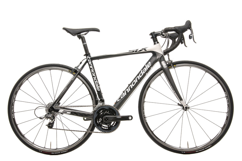 Cannondale Six Carbon Road Bike - 2010, 50cm drive side