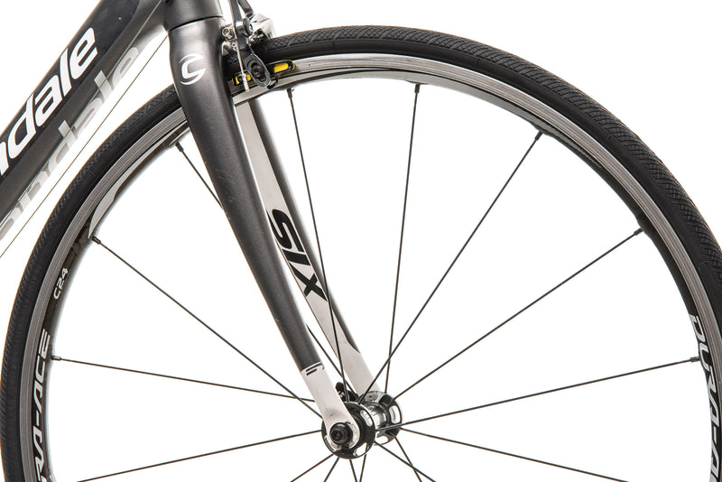 Cannondale Six Carbon Road Bike - 2010, 50cm front wheel