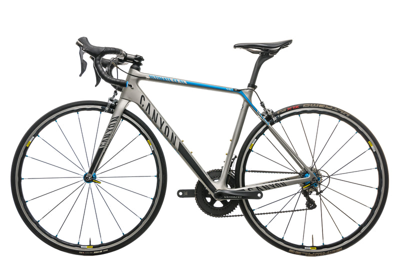 Canyon Ultimate CF SL 8.0 Road Bike - 2017, Small non-drive side