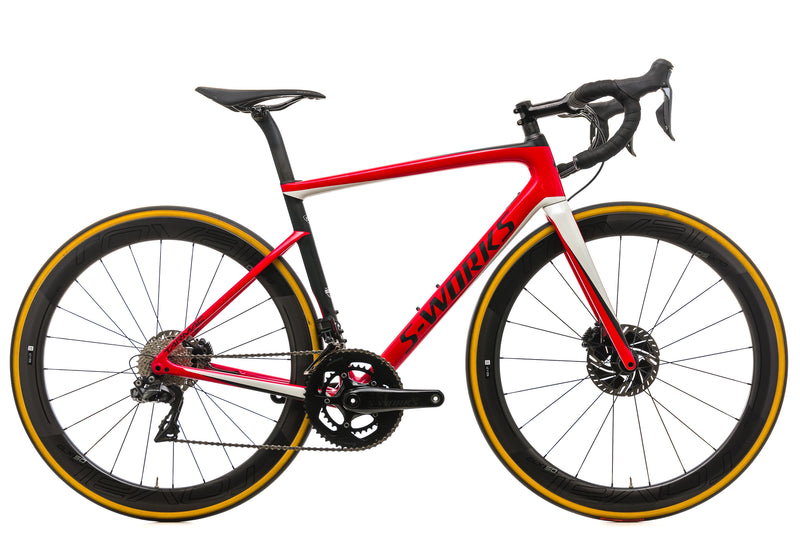 Specialized S-Works Tarmac Disc Di2 Road Bike - 2019, 54cm drive side
