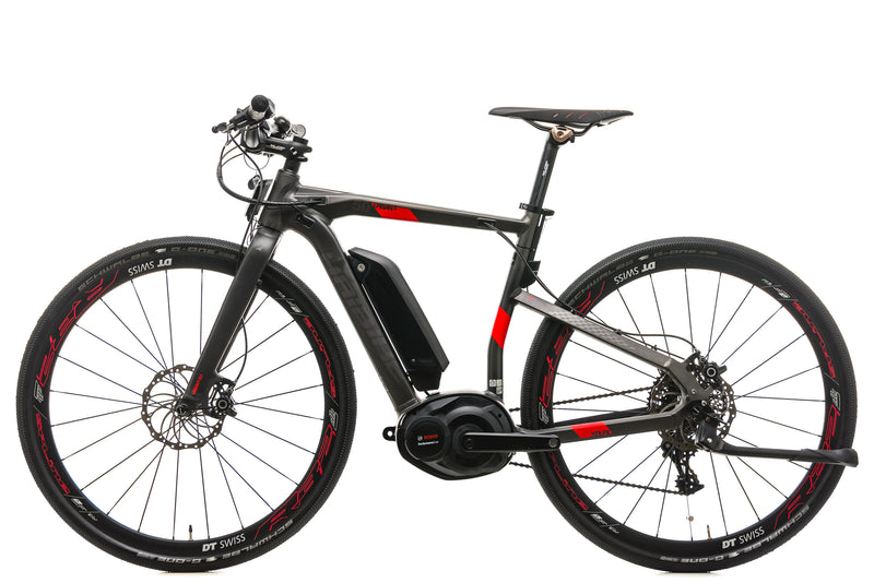 Haibike XDURO Urban S 5.0 Road E-Bike - 2017, X-Small non-drive side