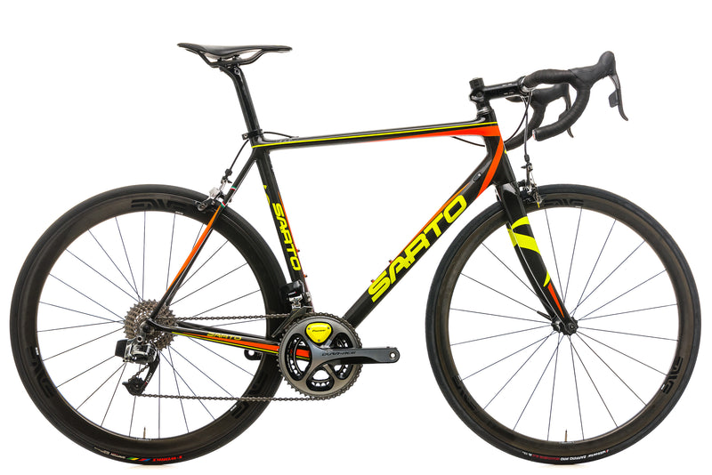 Sarto Seta Custom Road Bike - 2016, Large drive side