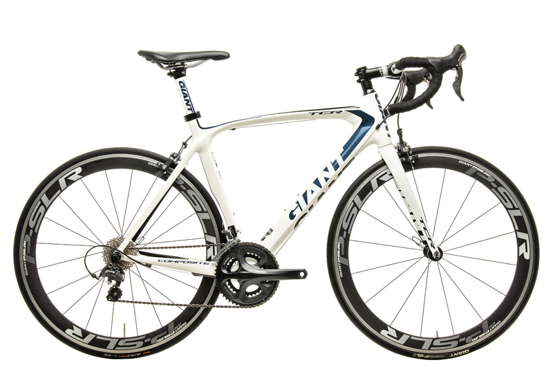Giant TCR Composite 1 Road Bike - 2013, Med/Large drive side