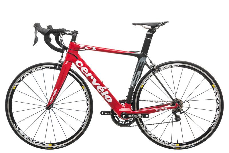 Cervelo S3 Road Bike 54cm - 2016, 54cm non-drive side