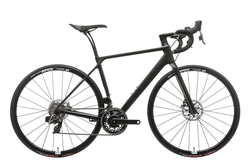 Canyon Endurace CF SLX Disc 9.0 SL Road Bike - 2019, Small drive side