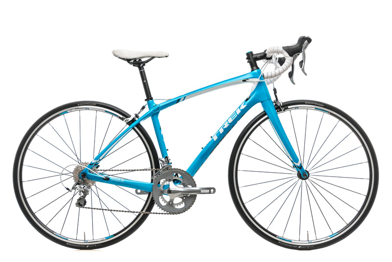 Trek Silque Womens Road Bike - 2015, 50cm drive side