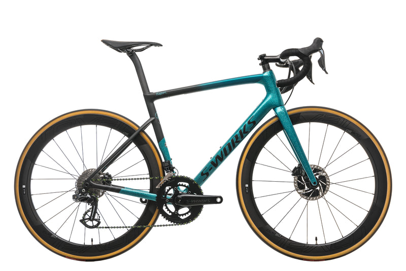 Specialized S-Works Tarmac Disc Sagan Collection LTD - 2019, 56cm drive side