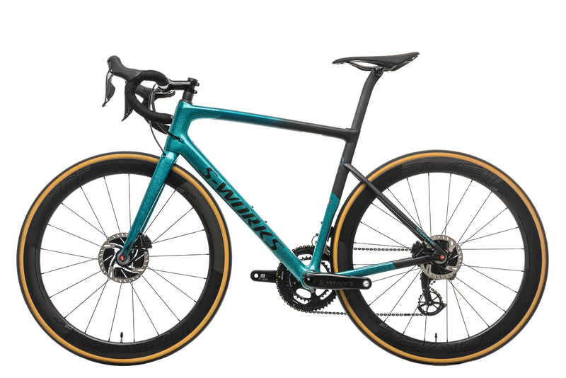 Specialized S-Works Tarmac Disc Sagan Collection LTD - 2019, 56cm non-drive side