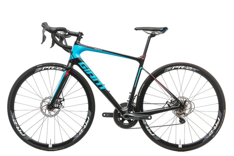 Giant Defy Advanced 1 Disc Road Bike - 2016, Medium non-drive side