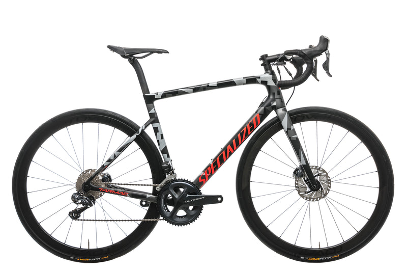 Specialized Tarmac Disc Expert Mens Road Bike - 2018, 56cm drive side