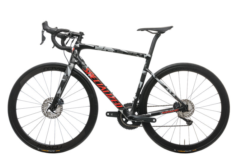 Specialized Tarmac Disc Expert Mens Road Bike - 2018, 56cm non-drive side